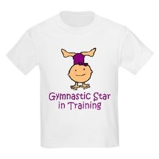 Gymnastic Star in Training Madison Kids T-Shirt