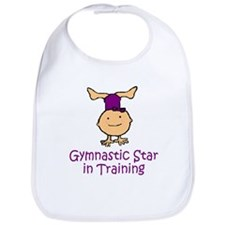Gymnastic Star in Training Madison Bib
