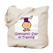Gymnastic Star in Training Madison Tote Bag