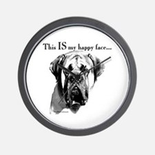 Mastiff 137 Wall Clock