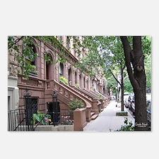 NY Brownstones by Gisele Noel [postcards]