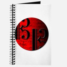 Alto Clef on Red Circle Journal