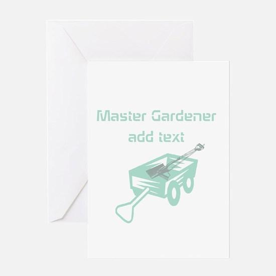 Cool Mint Master Gardener Greeting Cards