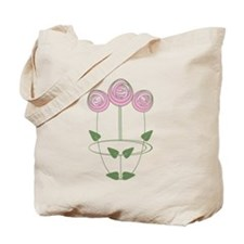 Art Nouveau Mackintosh Roses in Pink Tote Bag