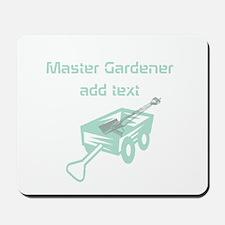 Cool Mint Master Gardener Mousepad
