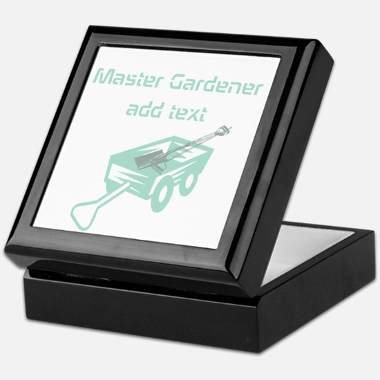 Cool Mint Master Gardener Keepsake Box