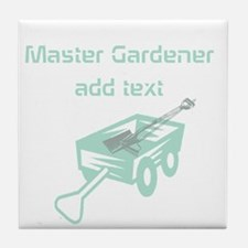 Cool Mint Master Gardener Tile Coaster