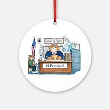 Female Principal Ornament (Round)