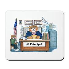 Female Principal Mousepad