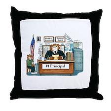Male Principal Throw Pillow