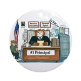 School principal gifts Ornaments