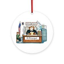 Male Principal Ornament (Round)