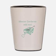 Cool Mint Master Gardener Shot Glass