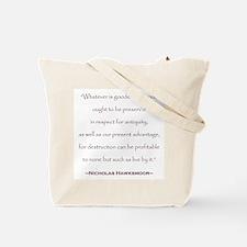 William Morris Preservation Quote Tote Bag