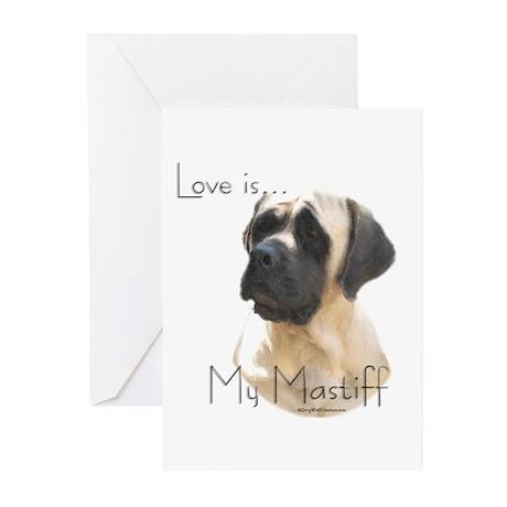 Mastiff 155 Greeting Cards (Pk of 10)