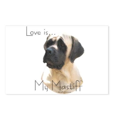 Mastiff 155 Postcards (Package of 8)
