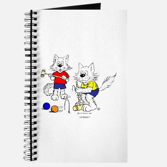 Croquet Cats Journal