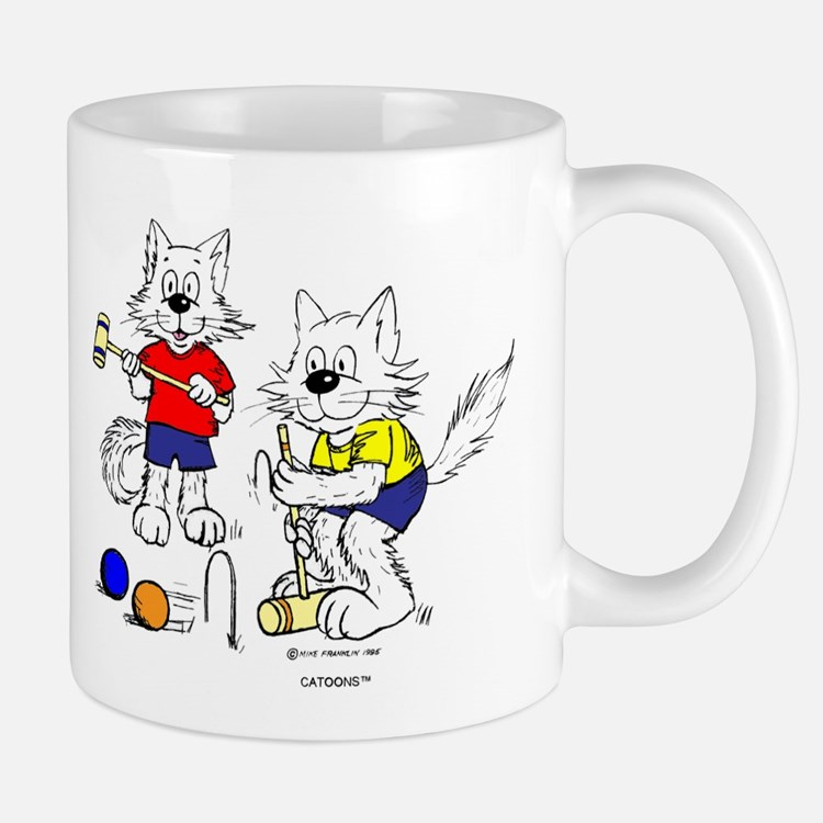 Croquet Cats Mugs Mug