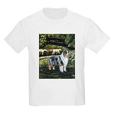 Aussie Blue Merle w/ Sheep T-Shirt