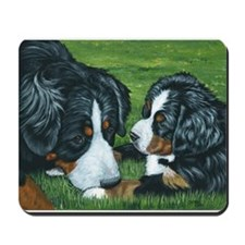 Bernese Mountain Dog Mom and Mousepad