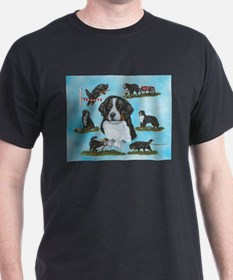 Bernese Mountain Versatile Do T-Shirt