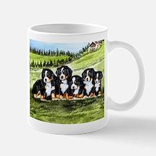 Bernese Moutain Dog Puppies Mug
