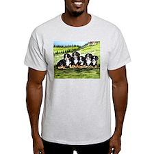 Bernese Moutain Dog Puppies T-Shirt
