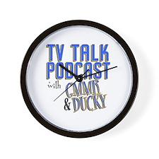 The TV Talk Podcast Wall Clock