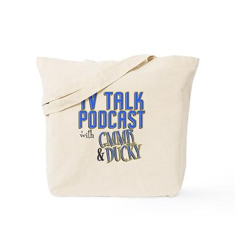 The TV Talk Podcast Tote Bag