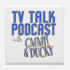 The TV Talk Podcast Tile Coaster