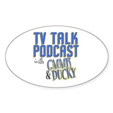 The TV Talk Podcast Decal