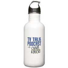 The TV Talk Podcast Water Bottle
