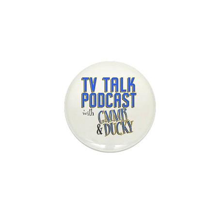 The TV Talk Podcast Mini Button