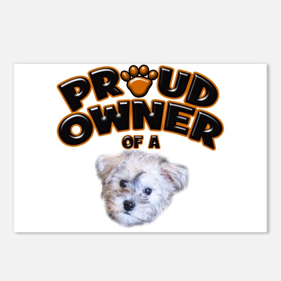 Proud Owner of a Schnoodle Postcards (Package of 8