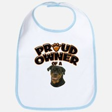 Proud Owner of a Rottweiler Bib