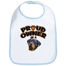Proud Owner of a Rottweiler 2 Bib