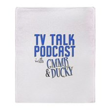 GMMR **AND** TV Talk Podcast Throw Blanket