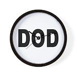 DOD Department of Defense Wall Clock