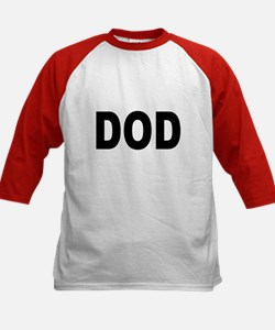 DOD Department of Defense (Front) Kids Baseball Je