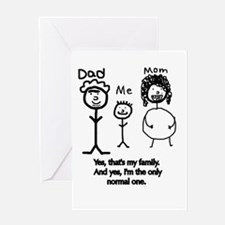 Cute Only yes means yes Greeting Card