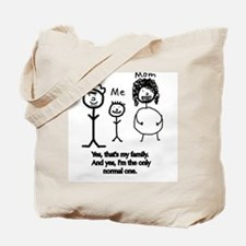 Cute Only child Tote Bag