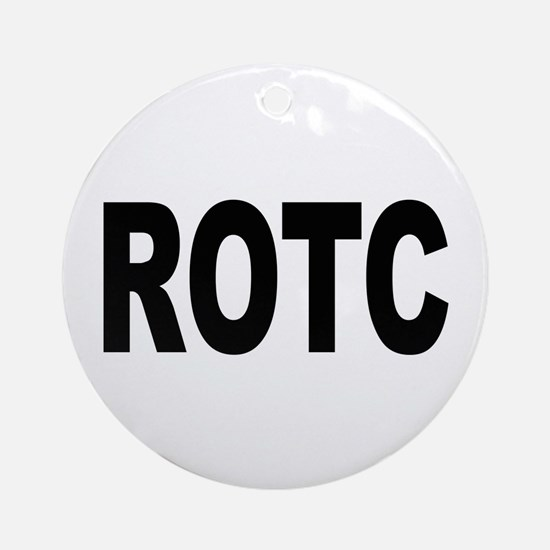 ROTC Reserve Officers Training Corps Ornament (Rou