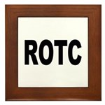 ROTC Reserve Officers Training Corps Framed Tile