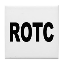 ROTC Reserve Officers Training Corps Tile Coaster
