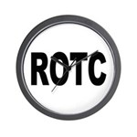 ROTC Reserve Officers Training Corps Wall Clock