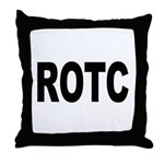 ROTC Reserve Officers Training Corps Throw Pillow
