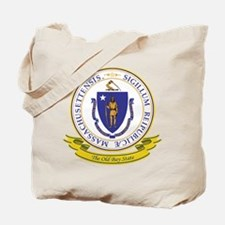 Massachusetts Seal Tote Bag