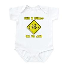 Kill A Biker, Go To Jail Infant Creeper