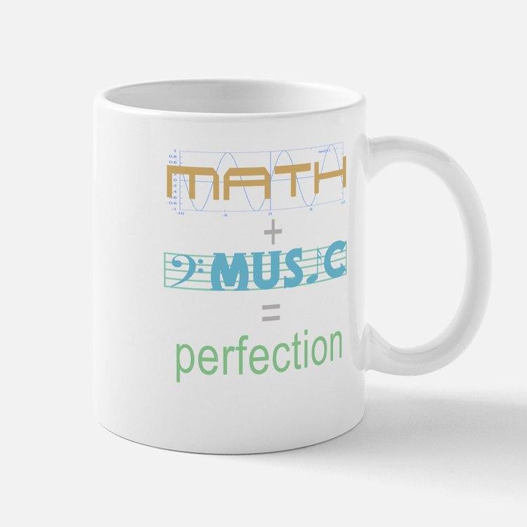 math and music Mug