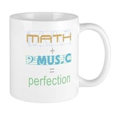 math and music Mug